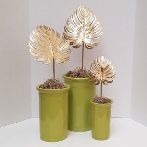 Vases Green Stackable See ALL PICTURES